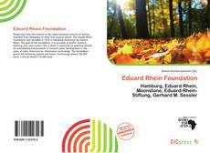 Borítókép a  Eduard Rhein Foundation - hoz
