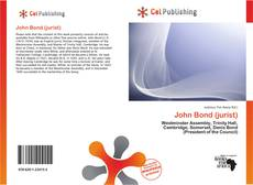 John Bond (jurist) kitap kapağı