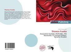 Buchcover von Thomas Franke