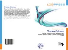 Bookcover of Thomas Coleman