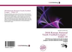 Copertina di 2010 Korean National Youth Football League – Under-18