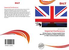 Bookcover of Imperial Conference