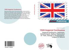Bookcover of 1926 Imperial Conference