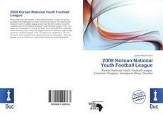 Copertina di 2009 Korean National Youth Football League