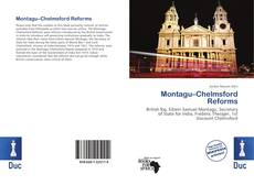 Bookcover of Montagu–Chelmsford Reforms