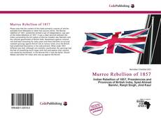 Murree Rebellion of 1857 kitap kapağı