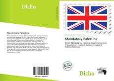 Bookcover of Mandatory Palestine