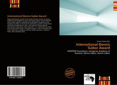 Bookcover of International Dennis Gabor Award