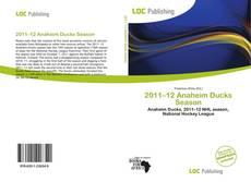 Capa do livro de 2011–12 Anaheim Ducks Season