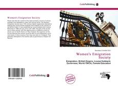 Bookcover of Women's Emigration Society