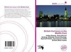 Buchcover von British Currency in the Middle East