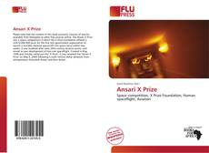 Bookcover of Ansari X Prize