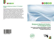 Bookcover of Belgium National Under-17 Football Team