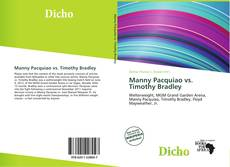 Bookcover of Manny Pacquiao vs. Timothy Bradley