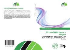 Buchcover von 2010 GEMAX Open – Singles