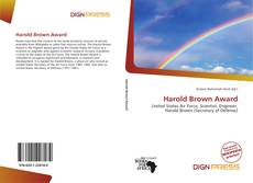 Bookcover of Harold Brown Award
