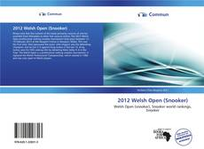 Buchcover von 2012 Welsh Open (Snooker)