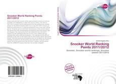 Couverture de Snooker World Ranking Points 2011/2012