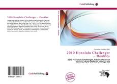 Bookcover of 2010 Honolulu Challenger – Doubles