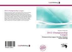 Couverture de 2012 Championship League