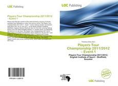 Capa do livro de Players Tour Championship 2011/2012 – Event 1