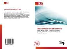 Borítókép a  Heinz Maier-Leibnitz-Preis - hoz