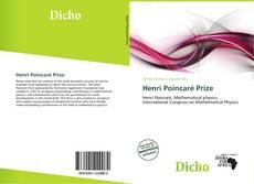 Обложка Henri Poincaré Prize