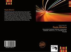 Capa do livro de Paulo Oliveira