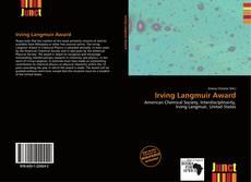 Capa do livro de Irving Langmuir Award