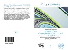 Capa do livro de Players Tour Championship 2011/2012 – Event 8