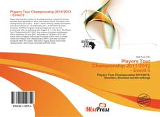 Bookcover of Players Tour Championship 2011/2012 – Event 5