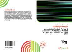 Portada del libro de Abdallah Deeb