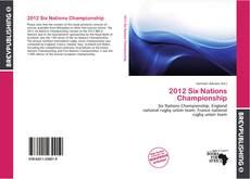 2012 Six Nations Championship kitap kapağı