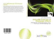 Bookcover of 2010 JSM Challenger of Champaign–Urbana
