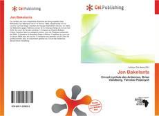 Bookcover of Jan Bakelants