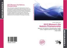2012 Women's Six Nations Championship kitap kapağı