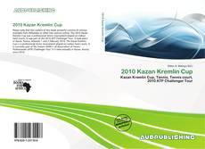 Portada del libro de 2010 Kazan Kremlin Cup