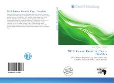 Portada del libro de 2010 Kazan Kremlin Cup – Doubles