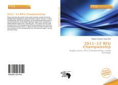 2011–12 RFU Championship的封面