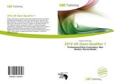 Borítókép a  2012 UK Open Qualifier 1 - hoz