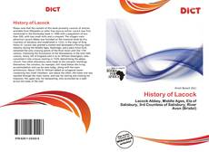 Bookcover of History of Lacock