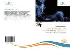 Bookcover of 2012 I-League U20