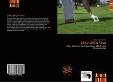 2012 LPGA Tour kitap kapağı