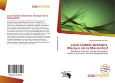 Louis Dubois-Descours, Marquis de la Maisonfort kitap kapağı