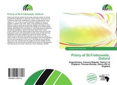 Priory of St Frideswide, Oxford kitap kapağı