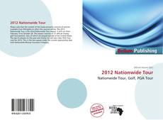 2012 Nationwide Tour的封面