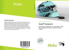 Bookcover of Geoff Sarjeant