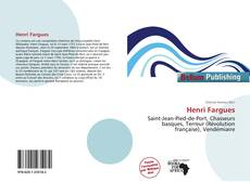 Обложка Henri Fargues