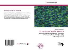 Portada del libro de Francisco Carbià Barrera