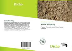 Bookcover of Boris Nikolsky